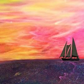 Ocean Meets Sky 1 by Mary Poliquin - Policain Creations