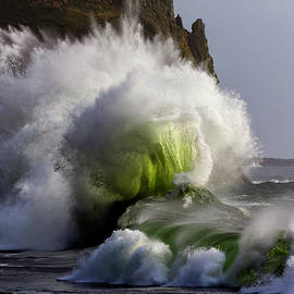 Ocean Spout by Wes and Dotty Weber