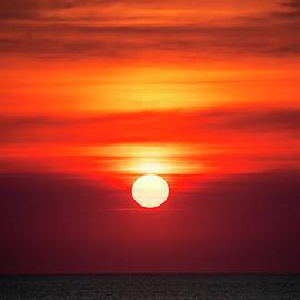 Ocean Sunrise by David Stasiak