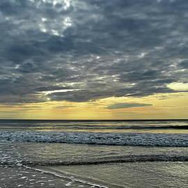 Ocean Sunset Geometry by Lyuba Filatova
