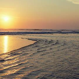Ocean Sunset by Gergana Chakarova