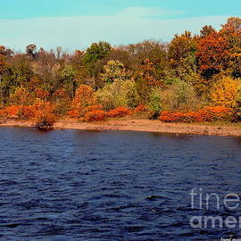 October Along The Delaware by Tami Quigley