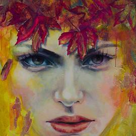 October Song by Dorina Costras
