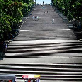 Odessa Steps, Odessa Ukraine by Yuri Lev