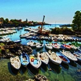 Ognina Harbour by Al Fio Bonina