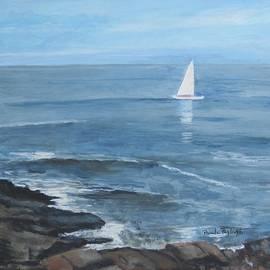 Ogunquit Sail by Paula Pagliughi