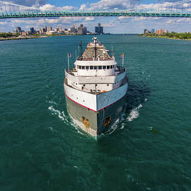 Ojibway Downbound at Detroit by Gales Of November