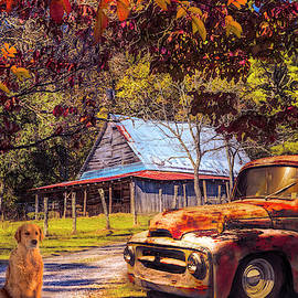 Ol' Country Red, Rust, and Ready  by Debra and Dave Vanderlaan