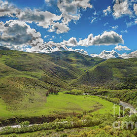 Ola Valley And Squaw Creek View by Robert Bales