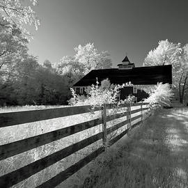 Old Barn infra red, Clay County, Indiana by Steve Gass