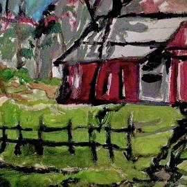 Old Barn Scene 26 GG by GG Bailey Artwork 48