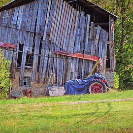 Old Barns Are Falling Down by Robert Tubesing