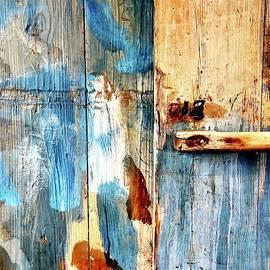 Old Blue Door by Mo Barton