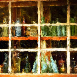 Old bottles by Tatiana Travelways