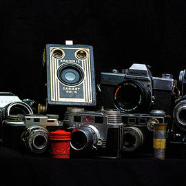 Old Cameras by Sean Sweeney