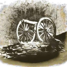 Old Cannon Art by Rick Davis