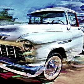 Old Chevy Truck by David Manlove