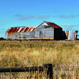 Old Dilapidated Farm Shed by Yolanda Caporn