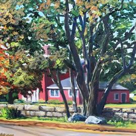Old Farm Inn, Rockport, MA by Eileen Patten Oliver