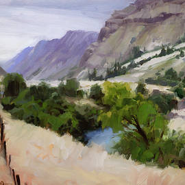 Old Fence Older River by Steve Henderson