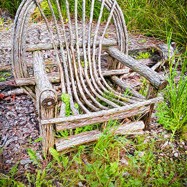 Old Garden Chair by Susan Buscho