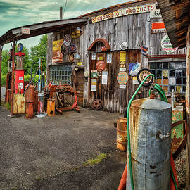 Old Gas Station 13 by Mike Penney