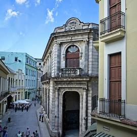 Old Havana Street View by LuAnn Griffin