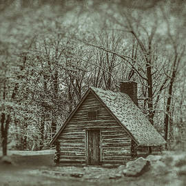 Old Hut in Snow by Jeff Oates Photography