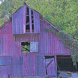 Old Indiana Barn by Robert Tubesing