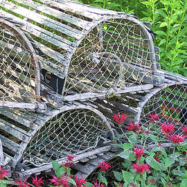 Old Lobster Traps by Jerry Griffin