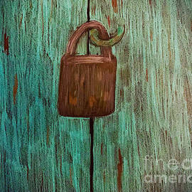 Old lock and door by Alisha Sawyer