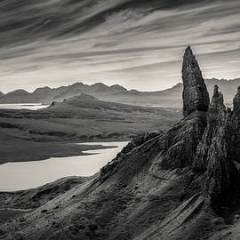 Old Man of Storr by Dave Bowman
