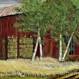Old Man Walker's Barn by Bob Hall