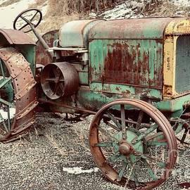 Old McCormick Deering tractor  by Marla Steinke