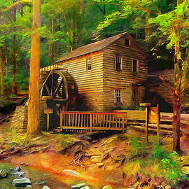 Old Mill by Jerzy Czyz