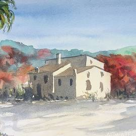 Old Mill, Provence. 18x24cm, 2021. by Ac Watercolors