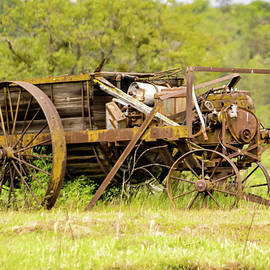 Old motorized cart  by Jeff Swan
