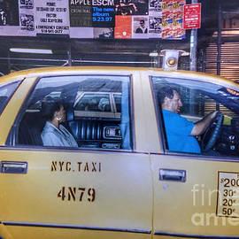Old New York - Taxi by Miriam Danar