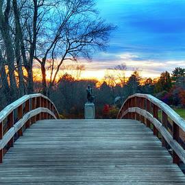 Old North Bridge - Minute Man Park by Joann Vitali