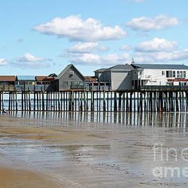 Old Orchard Beach Pier Maine USA by John Van Decker