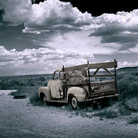 Old Pickup El Prado New Mexico by Yuri Lev
