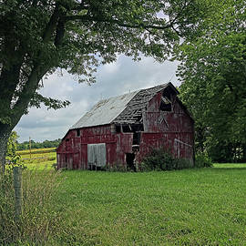 Old Red Barn 624, Indiana by Steve Gass