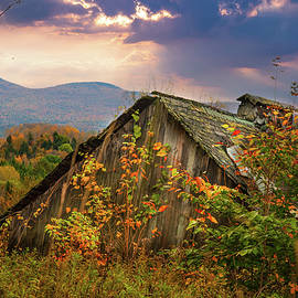 Old Retired Vermont Sugarshack by Jeff Folger