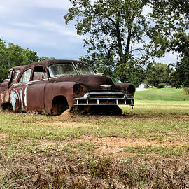 Old Rusty Chevy Car 1 by John Trommer