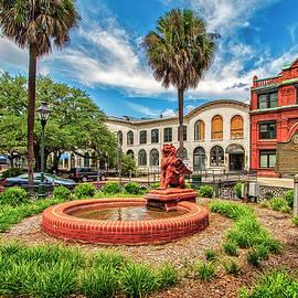 Old Savannah Cotton Exchange by Wayne Taylor