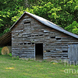 Old Shed Barn Parke County, Indiana by Steve Gass