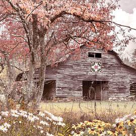 Old Smoky Mountain Farmhouse Barn by Debra and Dave Vanderlaan