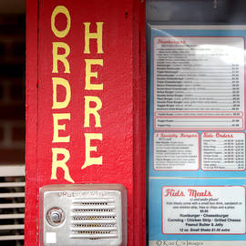 Old-style Diner Outdoor Ordering by Kae Cheatham