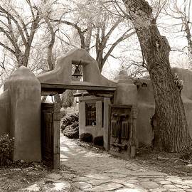 Old Taos Gate by Gordon Beck