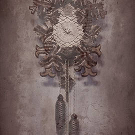 Old Time Cuckoo Clock by Susan Maxwell Schmidt